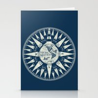 Sailors Compass Stationery Cards