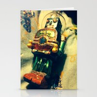 Vintage Christmas Robot Stationery Cards