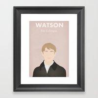Watson - The Colleague Framed Art Print
