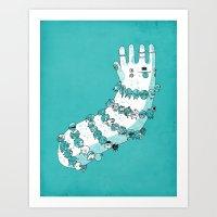 Bracelets Art Print