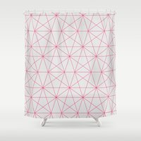 connections Shower Curtain