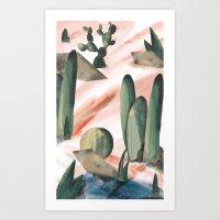 Pasancana & Quehualliu Art Print