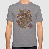 Emaline Mens Fitted Tee Tri-Grey SMALL