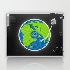 Music Makes The World Go Round Laptop & iPad Skin