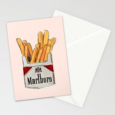 Fries Stationery Cards