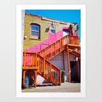 South Tacoma architecture Art Print