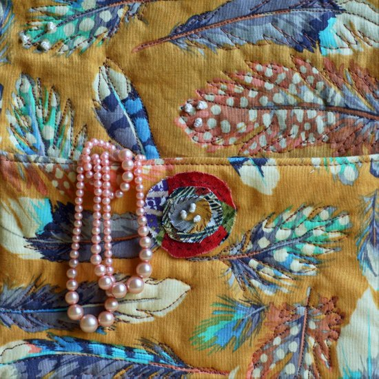 Antique Pearls Art Print
