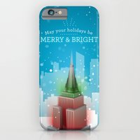 iPhone & iPod Case featuring Merry & Bright by Aimee LoDuca