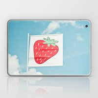 Strawberry Sky Laptop & iPad Skin