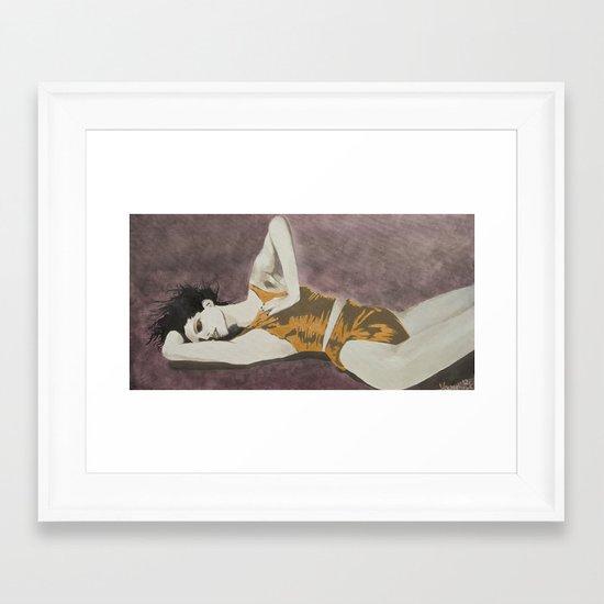Fever Pitch  Framed Art Print