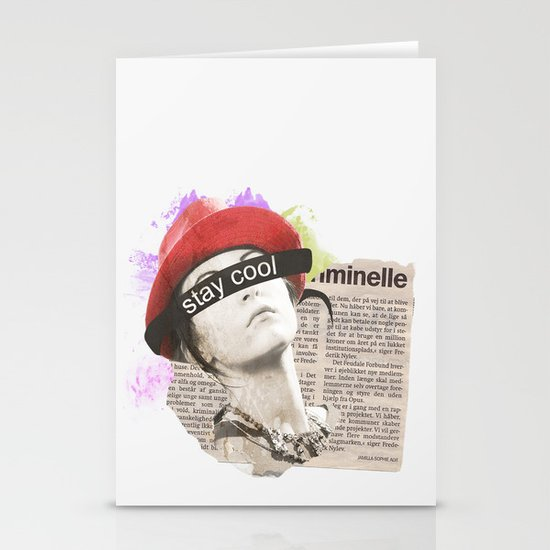 Stay Cool  Stationery Card