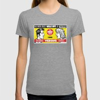 Zoolander VS Hansel Walk… Womens Fitted Tee Tri-Grey SMALL