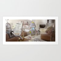 On A Sunny Afternoon Art Print