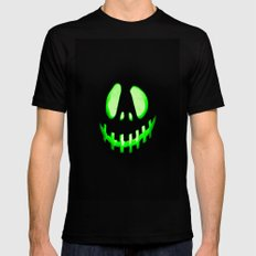 HALLOWEEN. Mens Fitted Tee Black SMALL