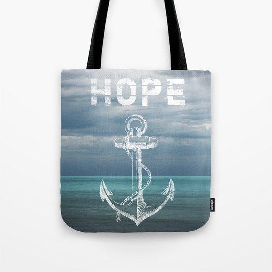Hope Anchor Tote Bag
