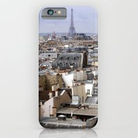 iPhone & iPod Case featuring Paris Rooftops by Emele Photography