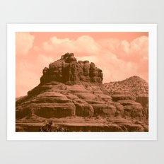 Bell Mountain, Sedona Arizona Art Print