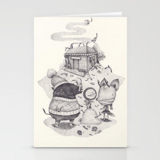 neige Stationery Card