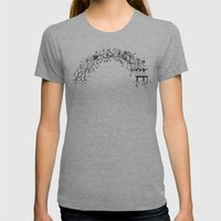 arch Womens Fitted Tee Athletic Grey SMALL