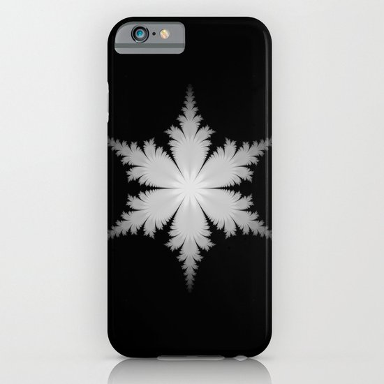 Fractal Snowflake iPhone & iPod Case