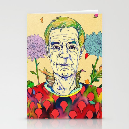 Timothy Leary Stationery Card