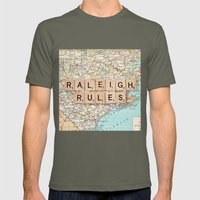 Raleigh Rules Mens Fitted Tee Lieutenant SMALL