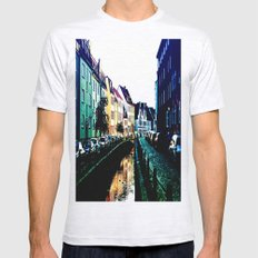 A Street in Wissmar, Germany Mens Fitted Tee Ash Grey SMALL