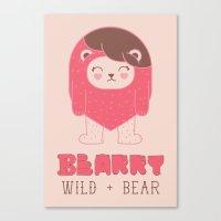 BEARRY Canvas Print