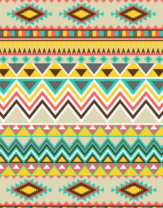 Aztec 7 Art Print