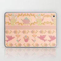 Cross Stitch Tea Party Laptop & iPad Skin