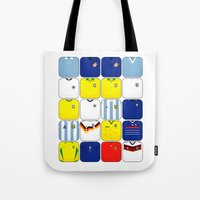 World In Motion II Tote Bag