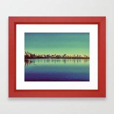 New York.. I've got you under my skin Framed Art Print