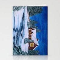 Winter Landscape-1 Stationery Cards
