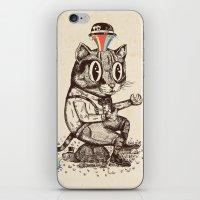 Strange Cat iPhone & iPod Skin