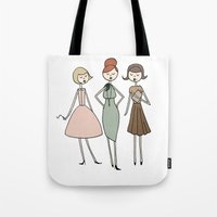 Betty, Joan and Peggy Tote Bag