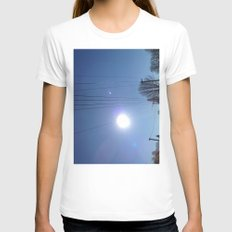 High Wire Womens Fitted Tee White SMALL