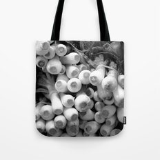 leeks Tote Bag