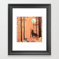wolf_2 Framed Art Print
