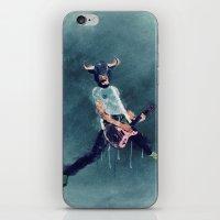 Punks not dead iPhone & iPod Skin