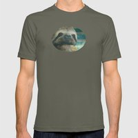 Ragin' like sloth!  Mens Fitted Tee Lieutenant SMALL