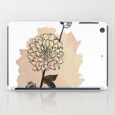 dahlias iPad Case