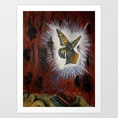 Deteriation toward brighter beginnings Art Print