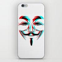 Anonymous.2 iPhone & iPod Skin