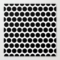 Graphic_Polka Dots  Canvas Print