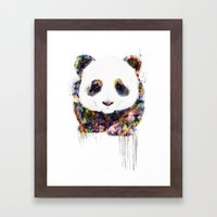 panda Framed Art Print