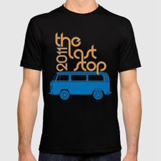 The Last Stop 2011 SMALL Black Mens Fitted Tee
