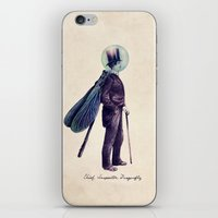 Inspector Dragonfly iPhone & iPod Skin