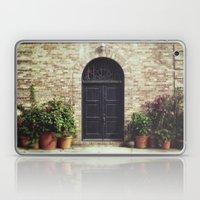 Courtyard Door Laptop & iPad Skin