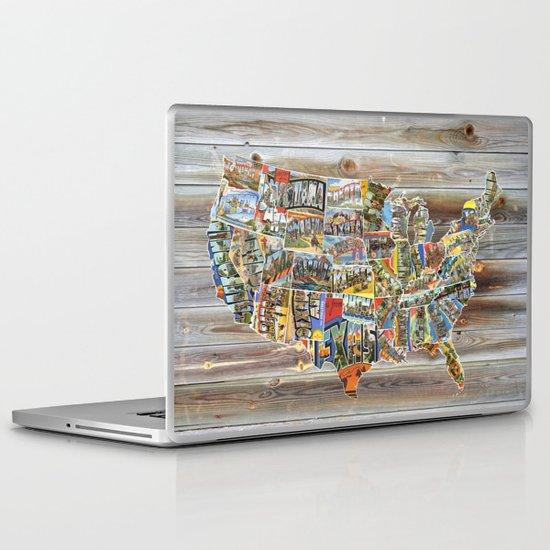 Greetings From Laptop & iPad Skin