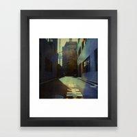 Tokyo Lane Polaroid Framed Art Print